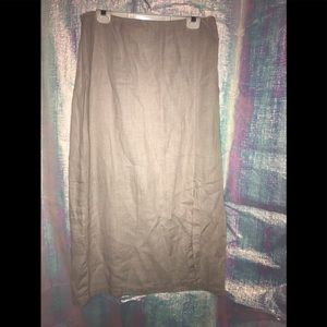 Chico's 100% linen skirt women's size 3 or XL